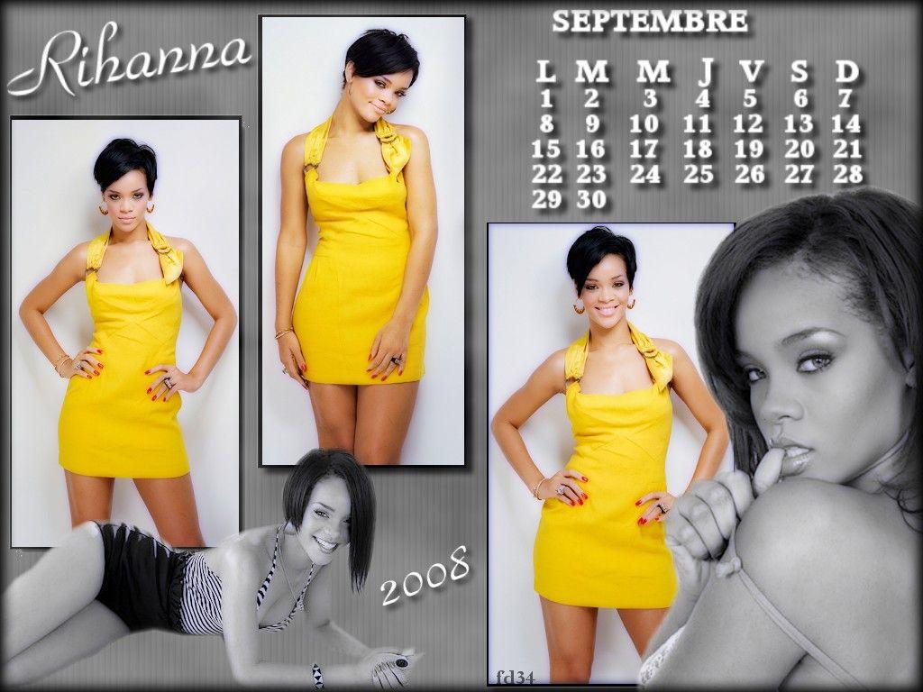 calendrier rihanna