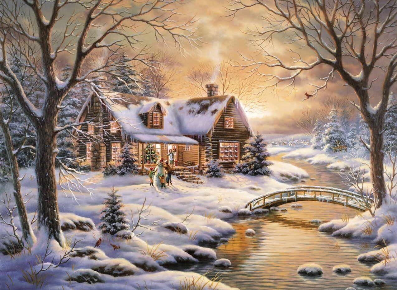 Résultat d'images pour Belles illustrations enfants sous la neige